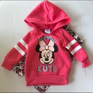 Disney baby Minnie Mouse outfit - size 12m
